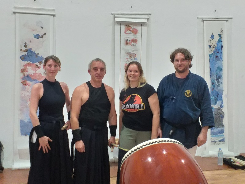 20190715 26 40 ans de temple sur lot kobudo