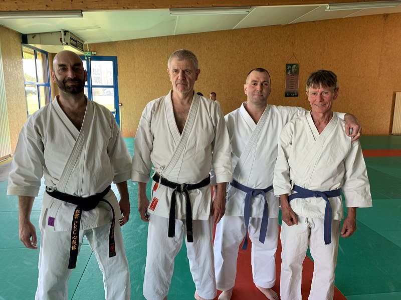 20190413 Stage Hervé Delage karate do chatellerault
