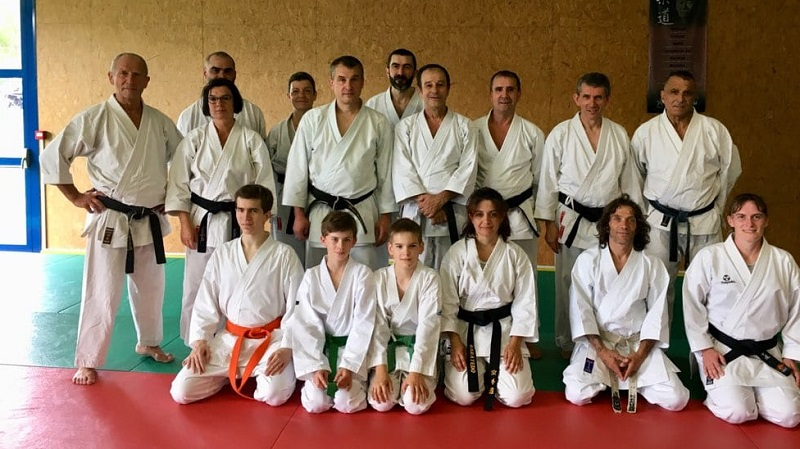 20190616 Stage jm Guedjali karate Chatellerault